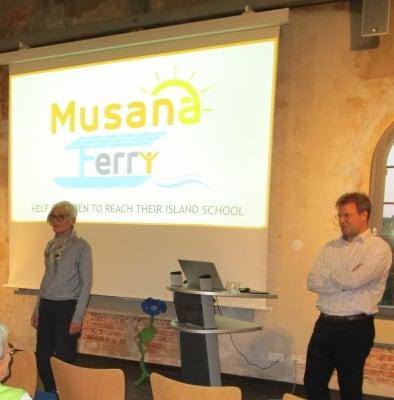 """Vortrag über das Projekt """"Musana Ferry"""" des Weltladens Soltau"""