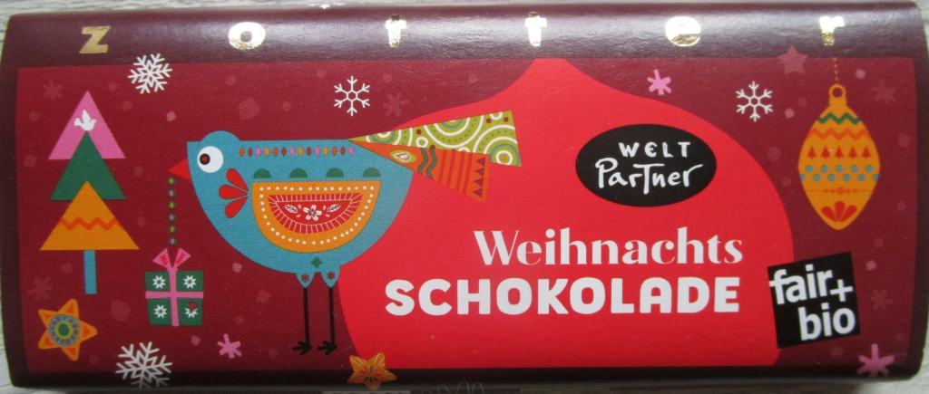 Weihnachtsschokolade   Weltladen Soltau