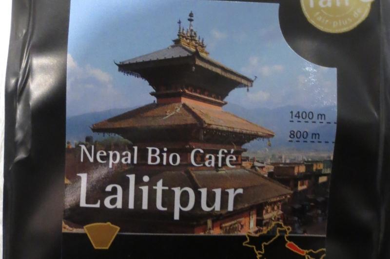 Biocafé Lalitpur von Gepa im Weltladen Soltau