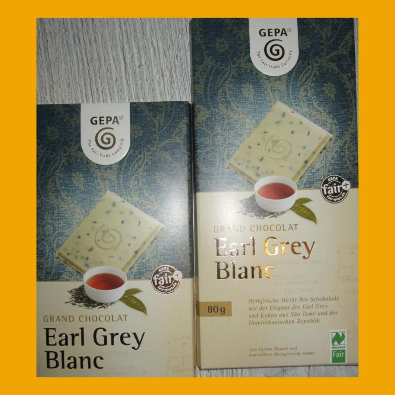 Ein besonderer Genuss– Grand Chocolat Earl Grey Blanc