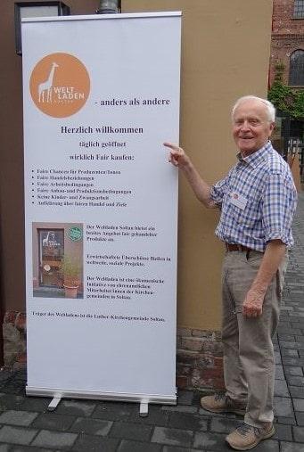 Jubiläum 30 Jahre Weltladen Soltau am 15.06.2019