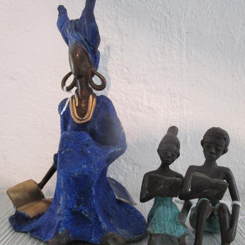 Bronze- und Messingkunsthandwerk aus Burkina Faso