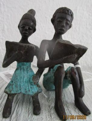 Unikate aus Bronze und Messing von Künstlern aus Burkina Faso